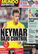 Portada Mundo Deportivo del 6 de Septiembre de 2011