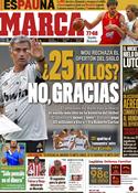 Portada diario Marca del 8 de Septiembre de 2011