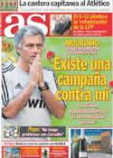 Portada diario AS del 9 de Septiembre de 2011