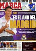 Portada diario Marca del 9 de Septiembre de 2011