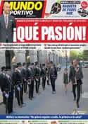 Portada Mundo Deportivo del 9 de Septiembre de 2011