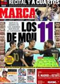 Portada diario Marca del 10 de Septiembre de 2011