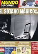 Portada Mundo Deportivo del 10 de Septiembre de 2011