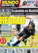 Portada Mundo Deportivo del 11 de Septiembre de 2011