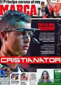 Portada diario Marca del 12 de Septiembre de 2011