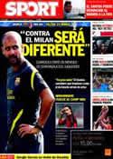 Portada diario Sport del 12 de Septiembre de 2011