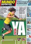 Portada Mundo Deportivo del 12 de Septiembre de 2011