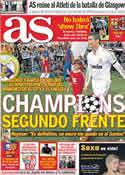 Portada diario AS del 13 de Septiembre de 2011
