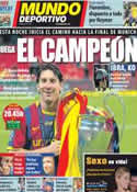 Portada Mundo Deportivo del 13 de Septiembre de 2011