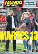 Portada Mundo Deportivo del 14 de Septiembre de 2011