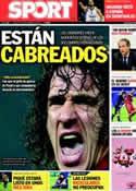 Portada diario Sport del 15 de Septiembre de 2011