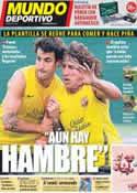 Portada Mundo Deportivo del 15 de Septiembre de 2011