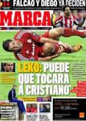 Portada diario Marca del 16 de Septiembre de 2011