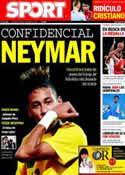 Portada diario Sport del 16 de Septiembre de 2011
