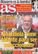 Portada diario AS del 17 de Septiembre de 2011