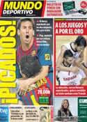 Portada Mundo Deportivo del 17 de Septiembre de 2011