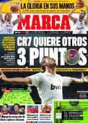 Portada diario Marca del 18 de Septiembre de 2011