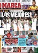 Portada diario Marca del 19 de Septiembre de 2011