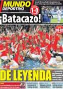 Portada Mundo Deportivo del 19 de Septiembre de 2011
