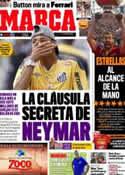 Portada diario Marca del 20 de Septiembre de 2011