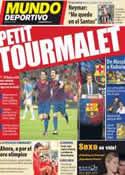 Portada Mundo Deportivo del 20 de Septiembre de 2011