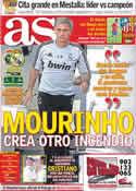 Portada diario AS del 21 de Septiembre de 2011