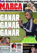 Portada diario Marca del 21 de Septiembre de 2011