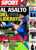 Portada diario Sport del 21 de Septiembre de 2011