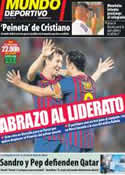 Portada Mundo Deportivo del 21 de Septiembre de 2011