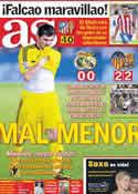 Portada diario AS del 22 de Septiembre de 2011