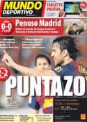 Portada Mundo Deportivo del 22 de Septiembre de 2011