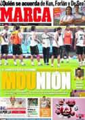 Portada diario Marca del 23 de Septiembre de 2011