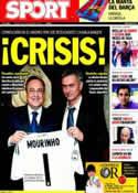 Portada diario Sport del 23 de Septiembre de 2011