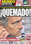 Portada Mundo Deportivo del 23 de Septiembre de 2011