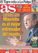 Portada diario AS del 24 de Septiembre de 2011