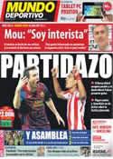 Portada Mundo Deportivo del 24 de Septiembre de 2011