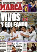 Portada diario Marca del 25 de Septiembre de 2011