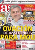 Portada diario AS del 26 de Septiembre de 2011