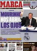 Portada diario Marca del 26 de Septiembre de 2011
