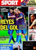 Portada diario Sport del 26 de Septiembre de 2011