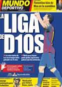 Portada Mundo Deportivo del 26 de Septiembre de 2011