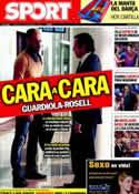 Portada diario Sport del 27 de Septiembre de 2011