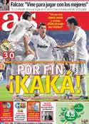 Portada diario AS del 28 de Septiembre de 2011