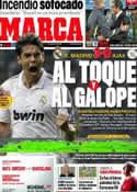 Portada diario Marca del 28 de Septiembre de 2011