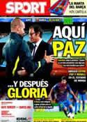 Portada diario Sport del 28 de Septiembre de 2011