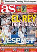 Portada diario AS del 29 de Septiembre de 2011
