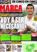 Portada diario Marca del 29 de Septiembre de 2011