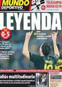 Portada Mundo Deportivo del 29 de Septiembre de 2011