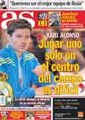 Portada diario AS del 30 de Septiembre de 2011