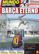 Portada Mundo Deportivo del 30 de Septiembre de 2011